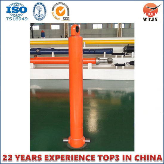 China Dump Truck Front End Hydraulic Cylinder with Ts16949 pictures & photos