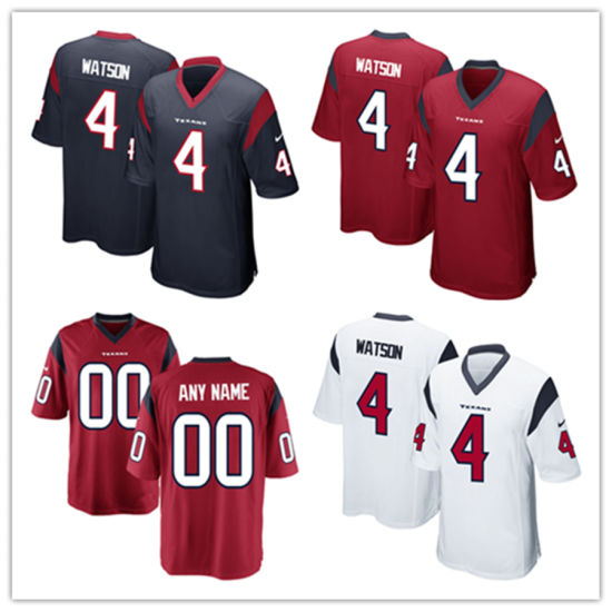 outlet store 06861 cf38d China Men Women Youth Texans Jerseys 4 Deshaun Watson ...