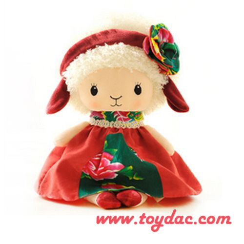 Plush Holiday Doll pictures & photos