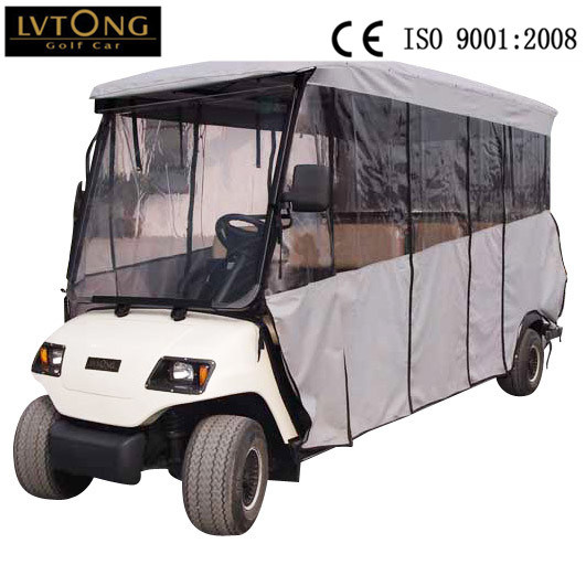 11 Seaters Electric Airport Shuttle Bus (LT-A8+3) pictures & photos