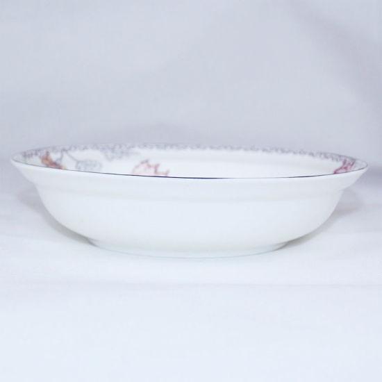 Bone China Ceramic Plate Wholesale White Porcelain Tableware - China ...