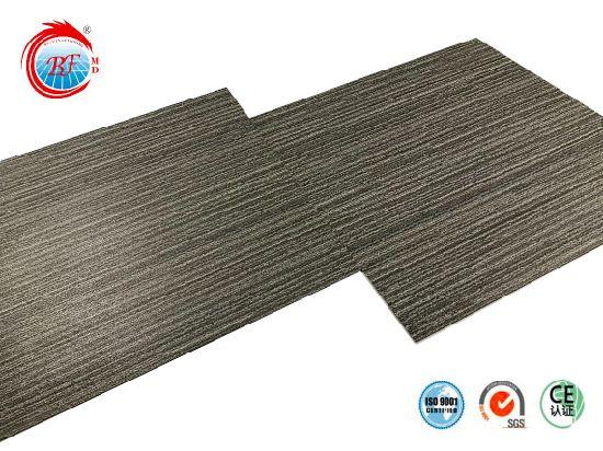 3mm Gray Carpet Grain Vinyl Flooring
