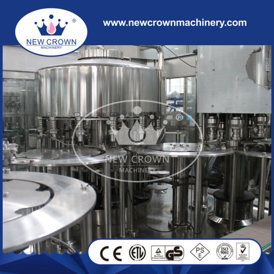 Rotary Type 3 in 1 Big Bottle Filling Machine for Non Gas Liquid pictures & photos