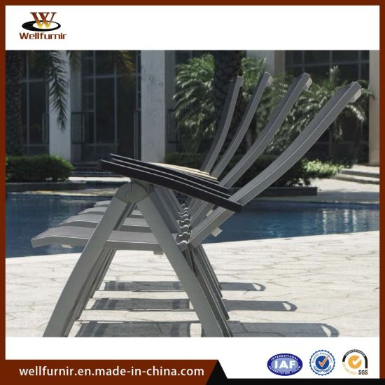 2018 Lightweight Folding Pool Sun Sling Chair Set Outdoor Furniture (MY-514) pictures & photos