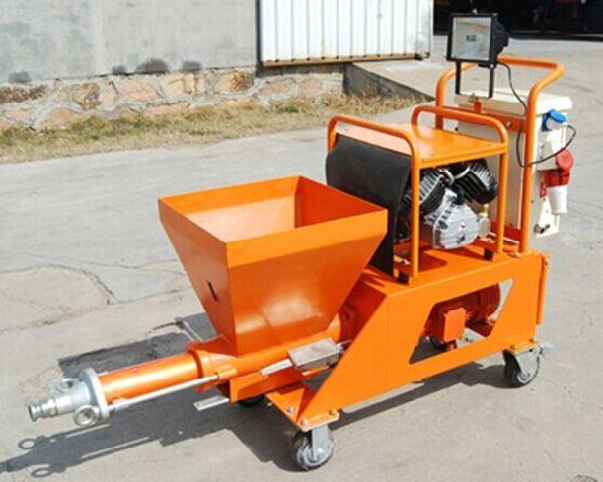 Mortar Spray Machines Mail: China Wall Putty/ Mortar/ Cement/ Gypsum Plaster Spraying