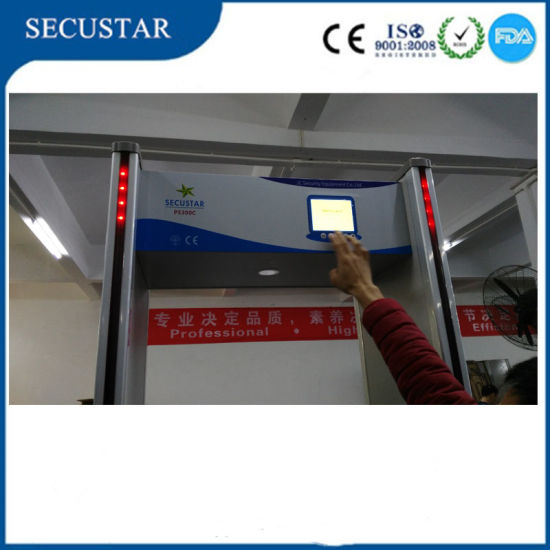 LCD Door Frame Metal Detector with Walk Through Metal Detector pictures & photos