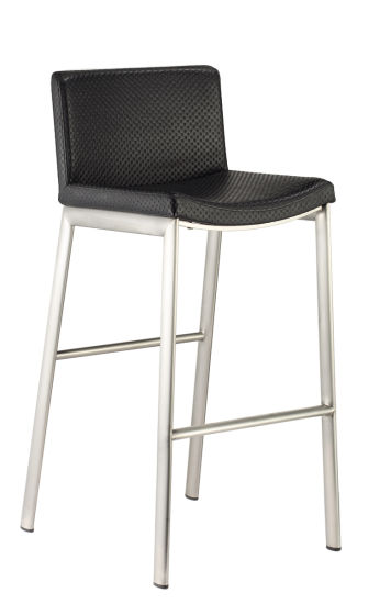 Backrest PU Stainless Steel High Chair Bar Stool pictures & photos