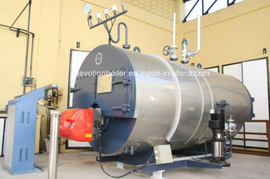 Gas & Oil Fired Horizontal 3-Pass Fire Tube Steam Boiler pictures & photos