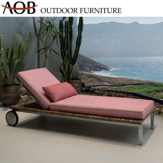 Hotel Resort Furniture Daybed Fabric