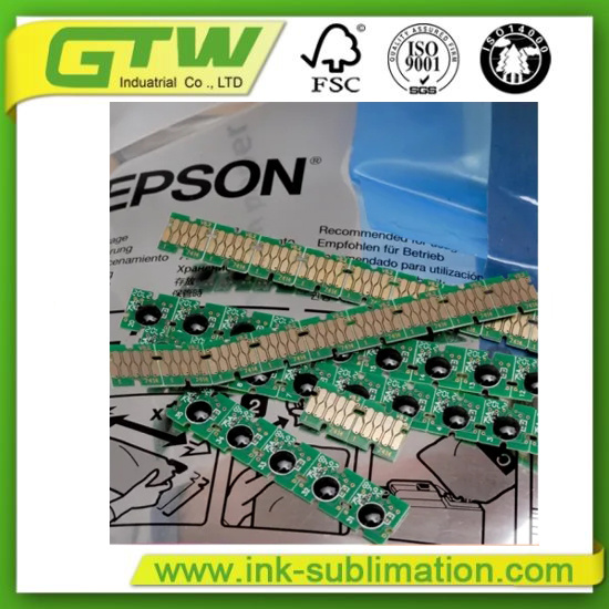 Compatible Disposable Ink Chip for Epson F-Series Printers (C, M, Y, BK)