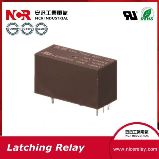 1 Phase 16A PCB Latching Relay with UL Nrl708A-3VDC