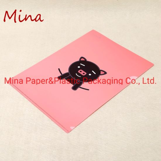 Recycled PP Plastic Document Files Folder