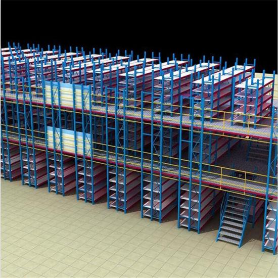 Medium Duty Multi-Purpose Mezzanine Flooring Racking