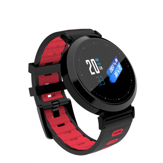 Multi-Color Silicone Watch Strap Heart Rate Monitor Wearable Device IP67 Waterproof Smart Watch Mobile Phone