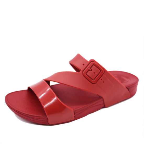 Red Summer Women Sandals with Cheap Price