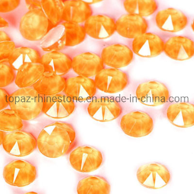 Best Quality Neon Flatback Crystal Stone Non Hotfix Rhinestone for Carnival Party