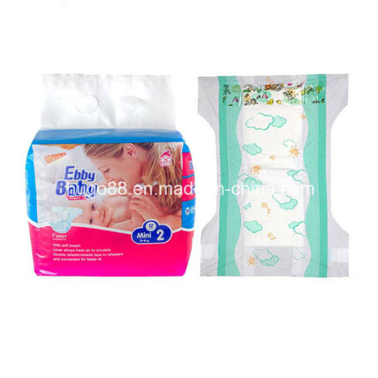 Wholesale Printed Feature Leak Guard Disposable Baby Diaper pictures & photos