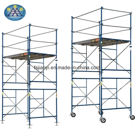 China Mobile Main Entrance Door Frame Scaffold - China Frame ...