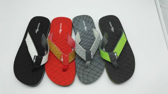 33042113c0b29e China Customize Wholesale EVA Men Summer Flip Flops Beach Rubber ...