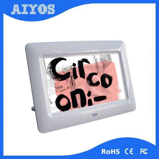 China 2017 High Quality 7 Inch Battery Operated Digital Photo Frame ...