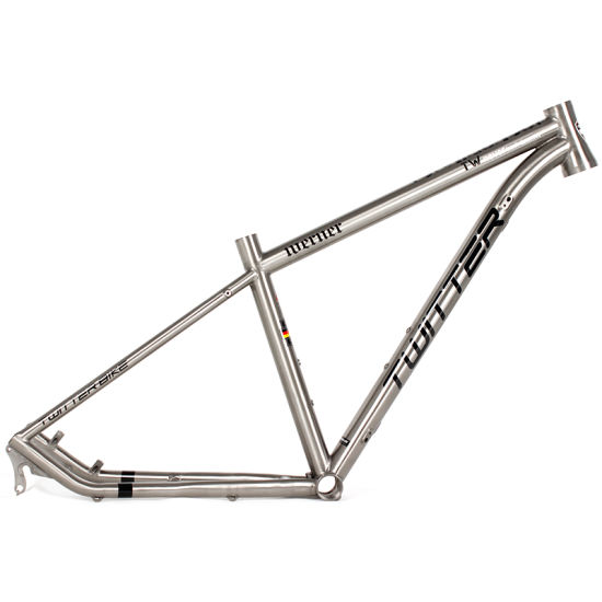 Full Suspension Titanium Alloy 26er Mountian Bicycle MTB Frame 27.5er pictures & photos