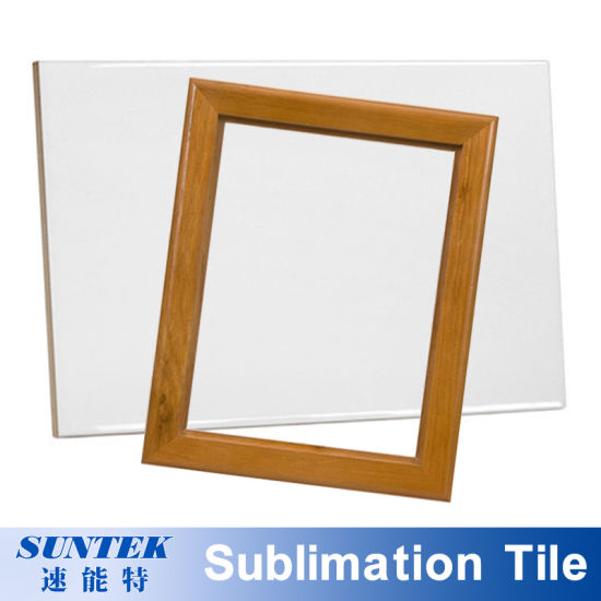 Sublimation Printing Blank Ceramic Tile for Phone Frame pictures & photos