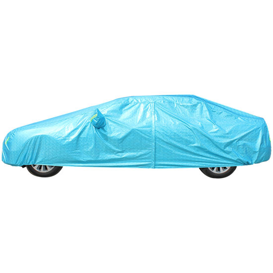 Waterproof Full Car Covers PEVA+PP Cotton Sunshade Car Cover