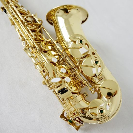 Sinomusik Professional Woodwind Grade Alto Saxophone for Sale pictures & photos