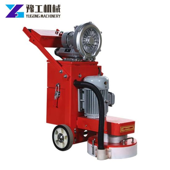 Electric Concrete Floor Surface Diamond Grinder with Vacuum Dust Collector pictures & photos