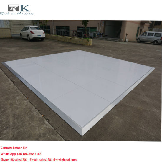 China Best Quality Wooden 1m1m Polished Dance Floor For Party Event