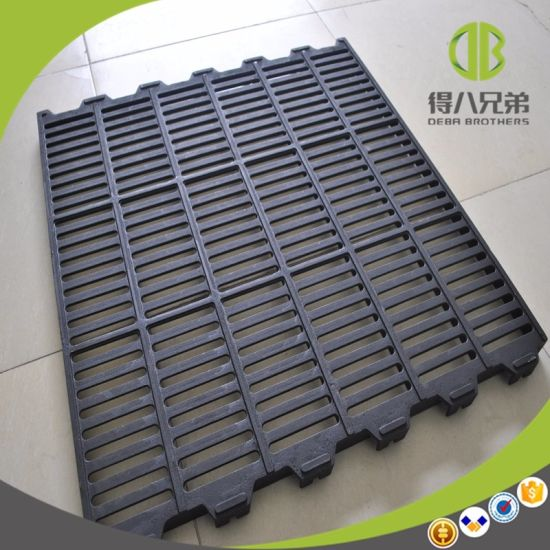 Pig Using Cast Iron Floor 600*600 with Hole Smooth Surface