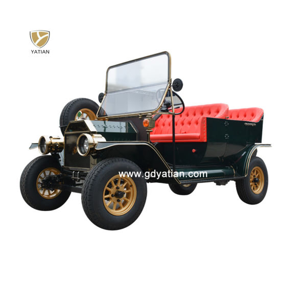 4 Seater Luxury Electric Old Vintage Pickup Classic Car for Sale