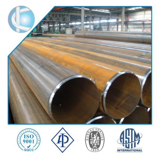 Nace Mr 0175 Water LSAW Steel Pipe as Per X52 X60 API 5L Psl1, LSAW or Sawl Steel Pipe X60