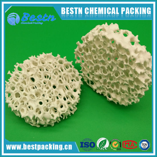 Sic Carbide Material Ceramic Foam Filter as Metal Filtration pictures & photos