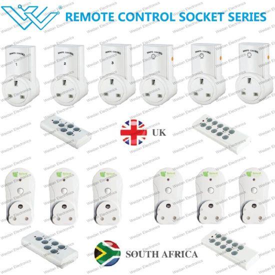 UK/South Africa Smart Plug Intelligent Remote Control Power Socket