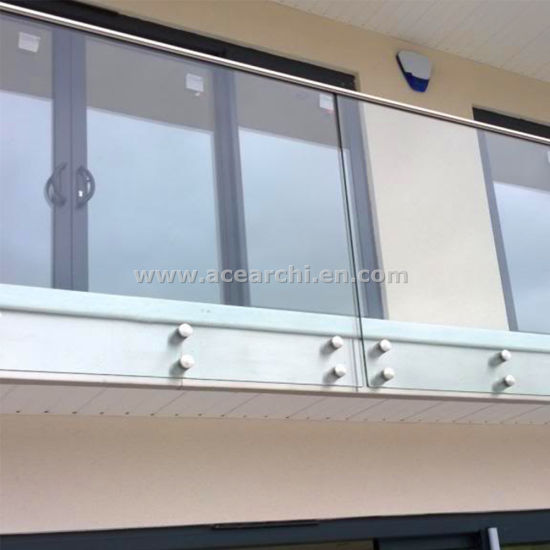 Cheap Price Side Mount Glass Railings for Interior Porch Balustrade pictures & photos