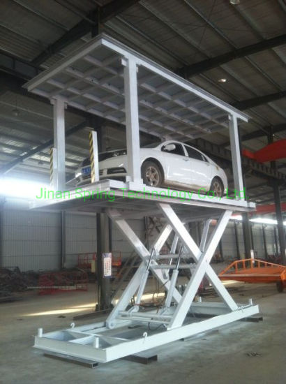 Hydraulic Scissor Lift Table Use for Car Lifting Scissor Car Lift Hydraulic Lift Table Auto Lift with Ce Approved Hydraulic Cargo Lift