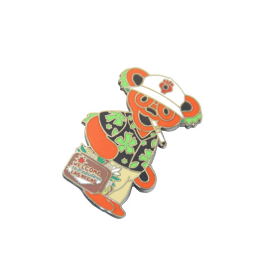Wholesale Soft Enamel Custom Bear Logo Cheap Lapel Pin Badge