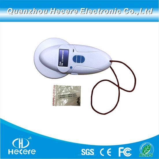 Fdx-B RFID Chip Reader Animal ID Handheld Scanner for Animal Identification