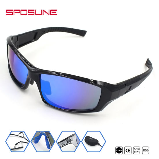 61b26d2b6e70 Manufacturer Windproof High Impact Discount Mens Sunglasses Outdoor Sports  Glasses pictures   photos