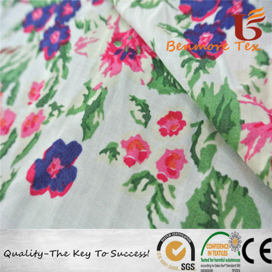 100% Rayon Fabric/Printed Rayon Fabric for Dress pictures & photos