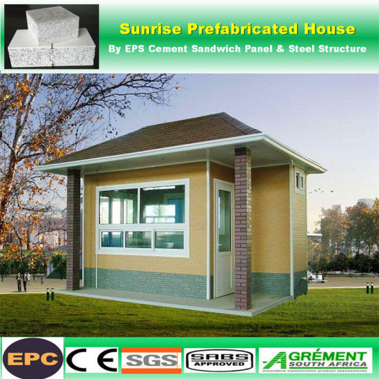 China Factory Direct Sales 5 Bedroom Prefab House Under 50k Cement Prefab House China Prefab House Prefabricated House