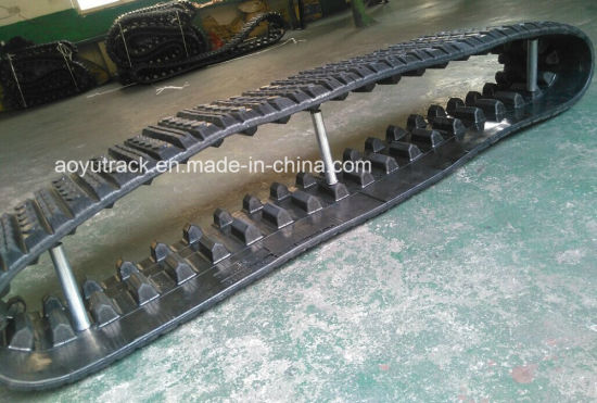 Rubber Tracks for Cat 287 Compacted Loader pictures & photos