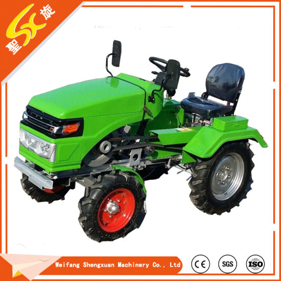 Single-Cylinder 15HP 2WD Mini Farm Tractor with Ce pictures & photos