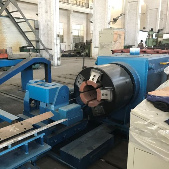 CNG Tank Hot Spinning Forming Machine with Induction Furnace
