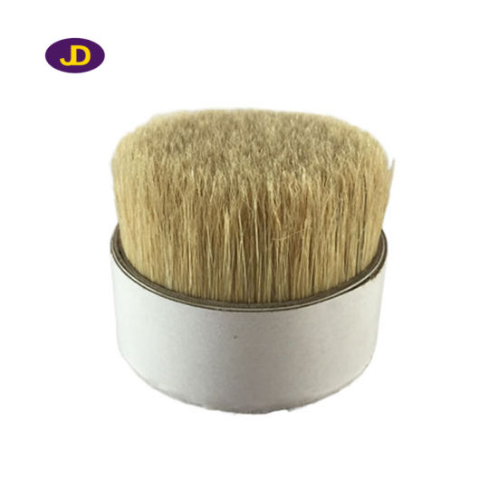70mm Soft White Color Pure Chungking Boiled Broom Bristle