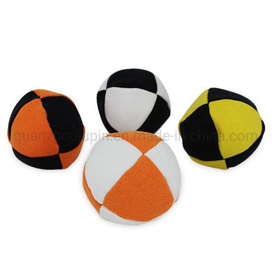 OEM Freestyle Multicolored Hacky Sack Cloth Foot Bags