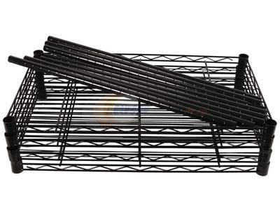 3 Layers Epoxy Coated Metal Wire Kitchen Shelf Rack with NSF Approval pictures & photos