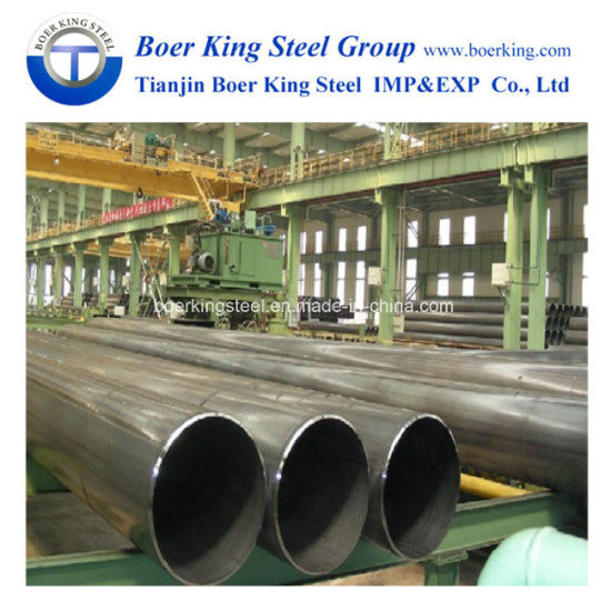 Professional Steel Manufacturer ASTM A252 Gr. 2 & Gr3 LSAW / SSAW Steel Pipe Piles, ASTM Sch40 Carbon Steel pictures & photos