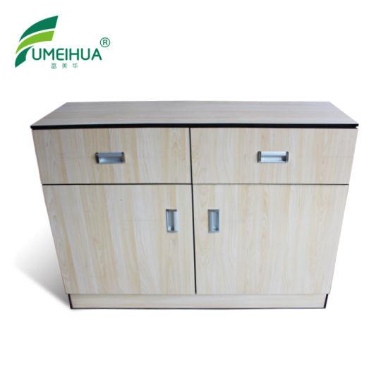 Wood Grain Color Waterproof Bathroom Storage Cabinets